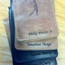 Personalized Back Saver Wallet: Premium Full Grain Leather