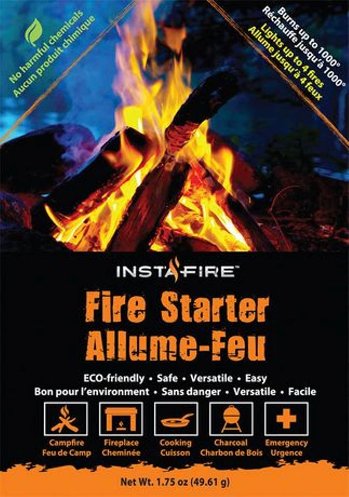 Insta-Fire:  Start s fire anywhere easily!!  (2 pack)