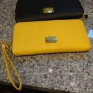 Leather Purse & Phone case (Black or Yellow)