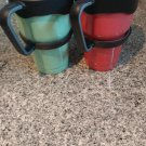 30 oz Stainless Steel Green or Red Mug (1 MUG)