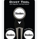 Pittsburgh Steeler  Divot tool & 3 Ball Markers