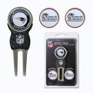 New England Patroits  Divot tool & 3 Ball Markers