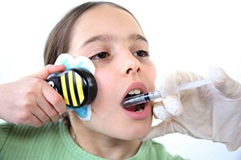 Buzzy Mini Personal Striped - Pain relief for first aid, injections..NO MORE TEARS!!