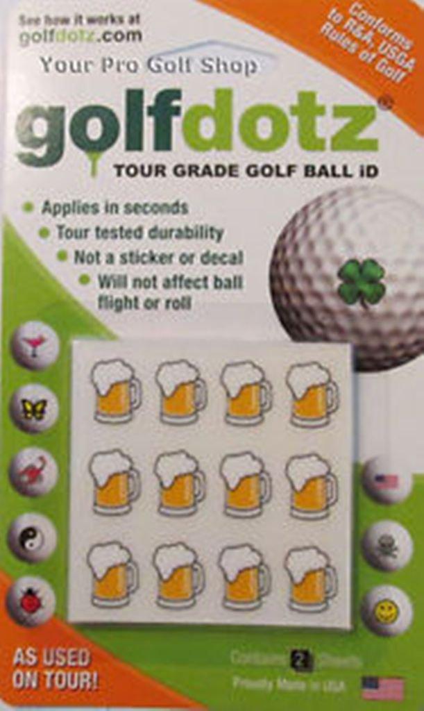 Golfdotz Easy Way Mark Your Golf Balls - CHEERS (24)