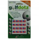 Golfdotz Easy Way Mark Your Golf Balls - USA Flag (32)
