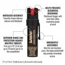 Sabre 3-IN-1 Pepper Spray : STAY PROTECTED
