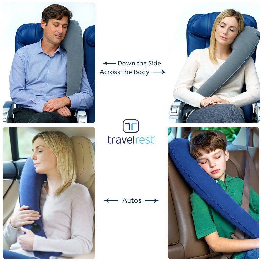 Travel Rest Travel Pillow :  BLUE
