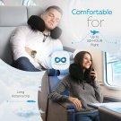 Everlasting Comfort 100% Pure Memory Foam Travel Neck Pillow