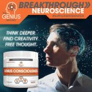 Genius Consciousness - Brain Booster For Mood, Energy, Focus & Alertness