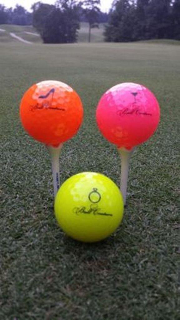 Couture  Golf Balls for Women (4) Golf Balls Only!!