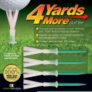 4 more yards Golf Tee (4 inch tees) (4 tees per pack)