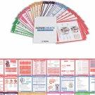 Scrubcheats 56 Heavy Duty Laminated Nursing Reference Cards