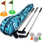 Heytech Toy Golf Clubs Set Deluxe Outdoor Set (3-7 Age)