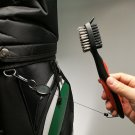Golf Club Brush Groove Cleaner with Retractable Zip-line (1)