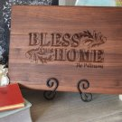 Bless This Home Personalized Cutting Board 8 x 14 inches