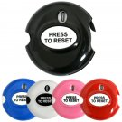 EZ Golf Stroke Score Counter -Fits in Pocket or Attaches to Glove -1 Touch Reset