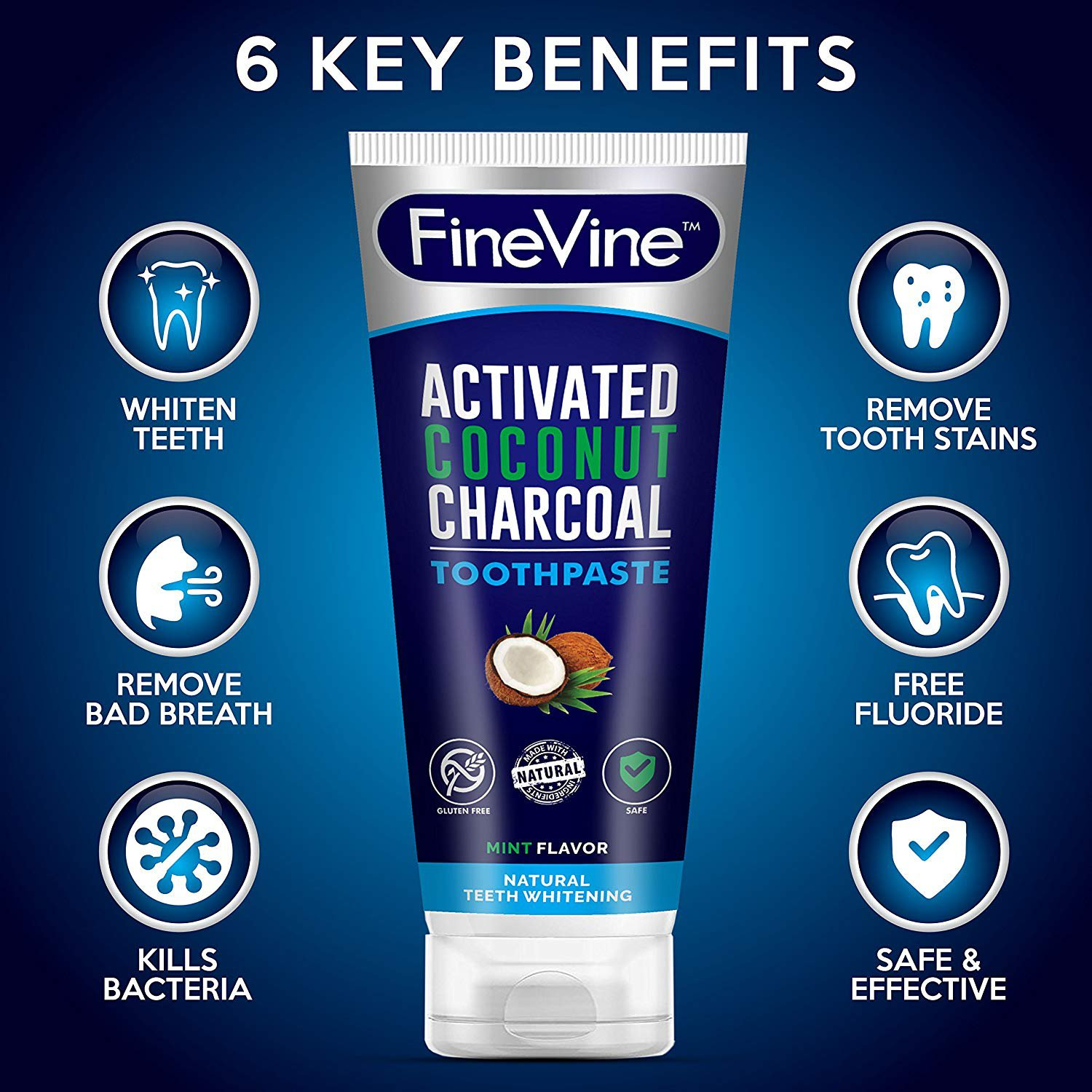 FineVine...Best Teeth Whitening Products, Powder, Coffee, Smoke Stains, Healthy Gums ...