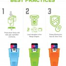 Golf Cart Rangefinder and Smartphone Holder  (various colors)