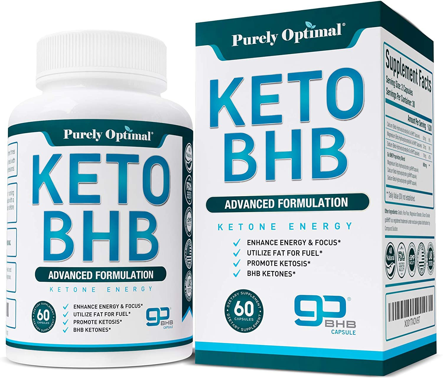 Premium Keto Diet Pills - Utilize Fat for Energy with Ketosis