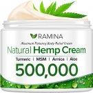 Ramina Natural Hemp Extract Pain Relief Cream - 500,000 2 oz
