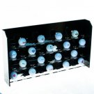 Acrylic Golf Ball Display - Hold 36 Balls - Desktop or Wall Mounted - NEW!