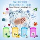 50 Portable Travel Hand Washing Paper Soap Sheets Antibacterial Skin
