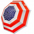 "USA Umbrella: .               62"" premium golf umbrella  for maximum coverage"