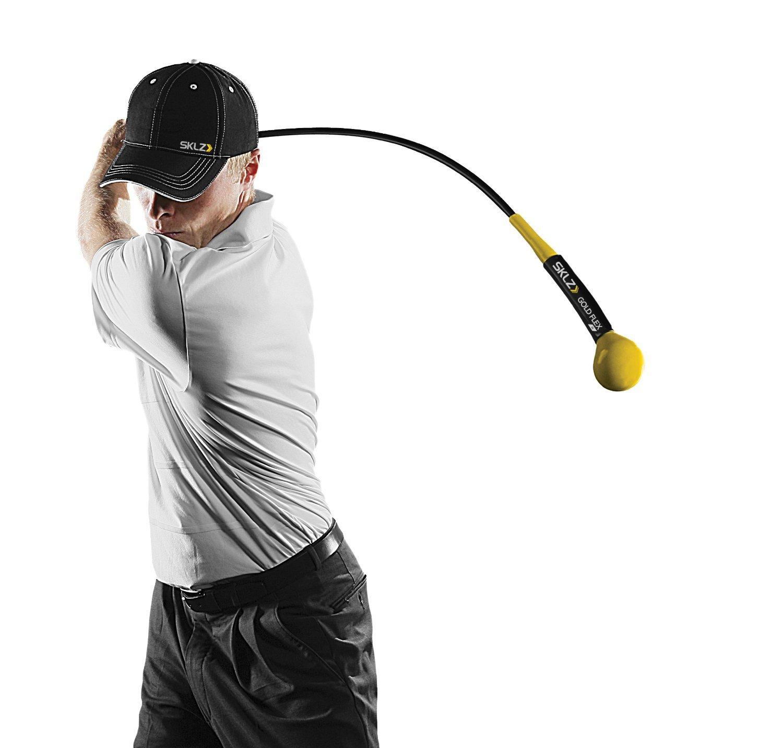 SKLZ Gold Flex Golf Swing Trainer Warm-Up Stick (40 inches)