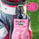 My Sack for Ladies + 2 Pink Golf balls