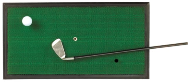 ProActive Sports 1' x 2' Golf Hitting Practice Mat for Chipping & Driving
