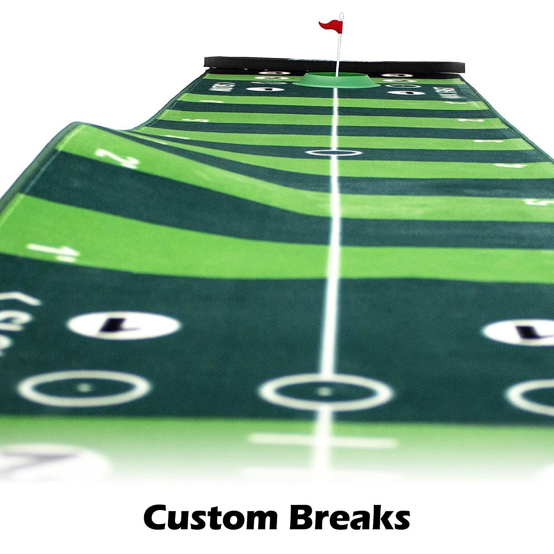 VariSpeed Golf Putting System - Practice 4 Different Speeds On One Mat!