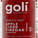 Apple Cider Vinegar Gummy Vitamins by Goli Nutrition -  60 gummies