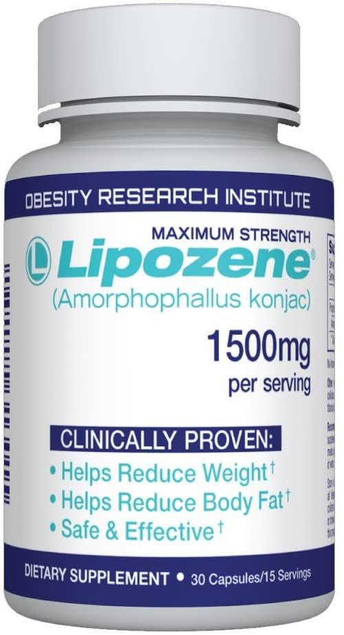 Lipozene 1500mg  (30 capsules) Weight Loss Miracle