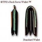 TPK Back Saver Wallet: Full Grain Leather (Black or Brown)