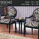 KF93042 (3 Pcs Traditional Accent Chair Set)