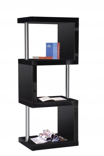 Bookcase 3 Shelves ( 2 Colors) Item: TR3 Black