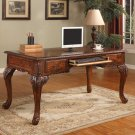 CD100 – Executive Traditional Office Desk w/ Hand Carved Designs