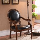 KF91038- Formal Living Room Accent Arm Chair w/ Nail Heads