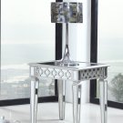 T1840 – Sophie Silver Mirrored Living Room End Table