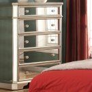 T1830 – Borghese Mirrored 5 Drawer Chest
