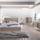 Brazil – Mid Century Modern Taupe Bronze Bedroom  (California King)