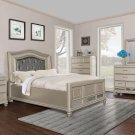 B2000 – Brittany Bronze Panel 5 Pcs Bedroom Set Queen