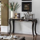 1615-Jane Austen Antique Black with Gold Trimming Sofa Table