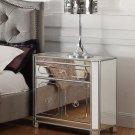 T1860 – Mya Silver Mirrored Nightstand
