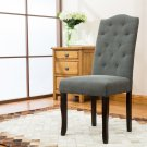 5086 – Spartanburg Upholstered Dark Gray Dining Side Chairs (Set of 2)