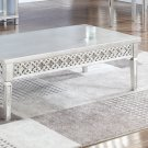 T1880, Monterey Silver Rectangular Coffee Table