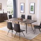 DX1720, Denver Industrial Antique Brown 5 Pcs Rectangular Dinette Set