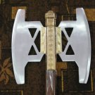 Battle Axe of Gimli From LOTR with wall plaque