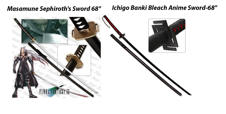 "Masamune Sephiroth's 68"" +Ichigo Banki Bleach Anime 68"""