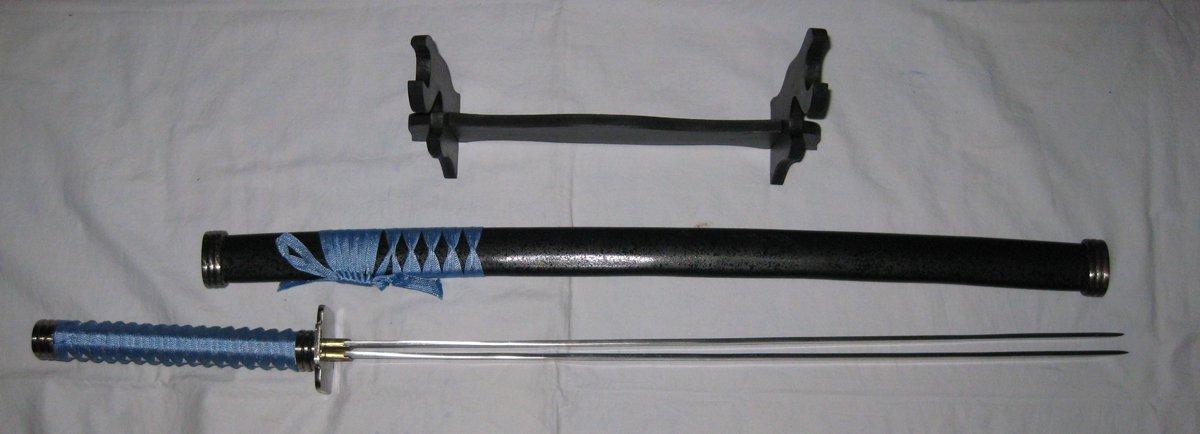 KADAJ Souba Double Bladed Katana Samurai Sword